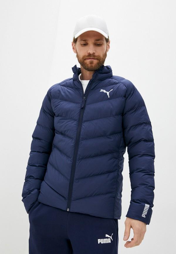 Куртка утепленная PUMA синего цвета