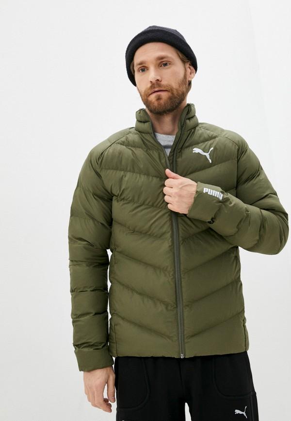 Куртка утепленная PUMA цвета хаки