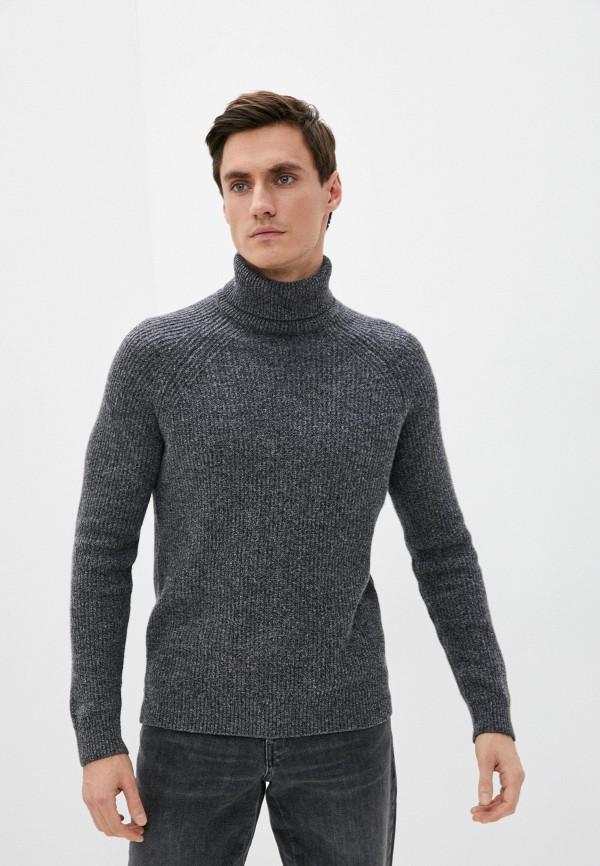 мужской свитер hackett london, серый