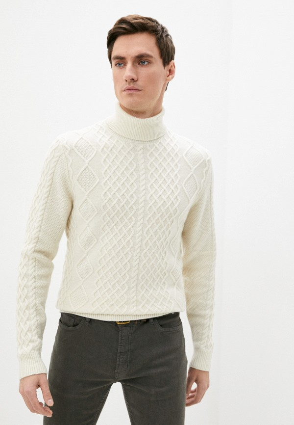 мужской свитер hackett london, бежевый
