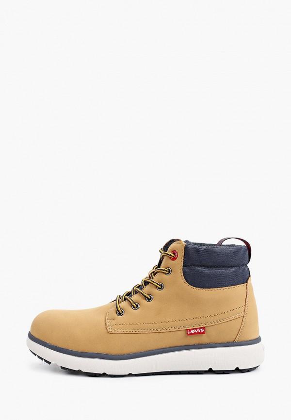 ботинки levi's® для мальчика, коричневые