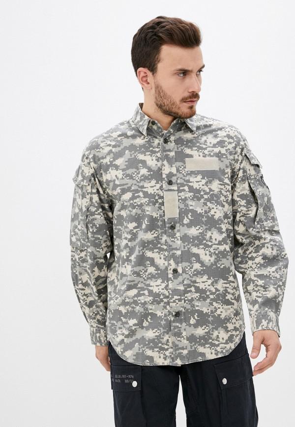 мужская рубашка с длинным рукавом diesel, разноцветная