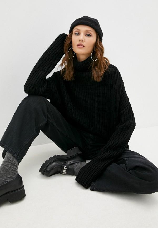 женский свитер diesel, черный