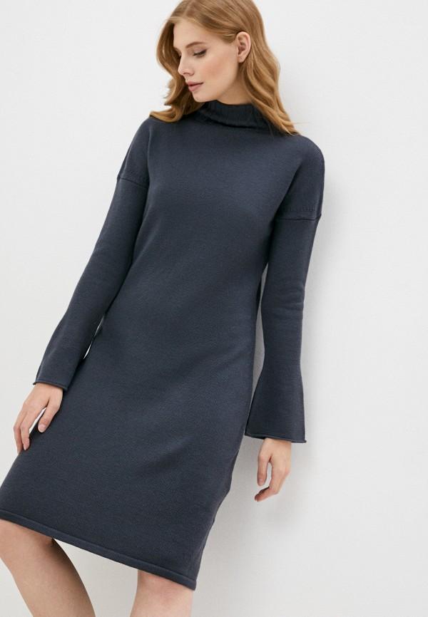 женское платье-свитеры max mara leisure, серое