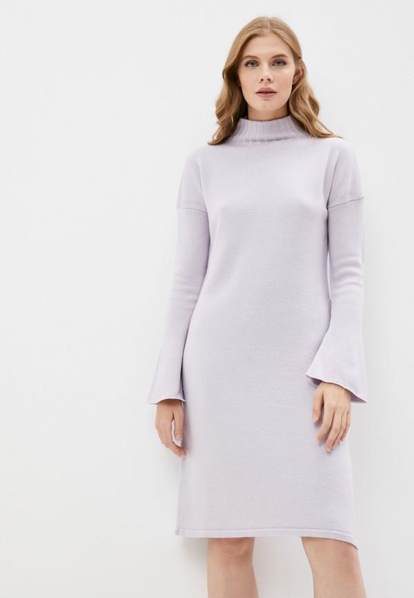 женское платье-свитеры max mara leisure, фиолетовое
