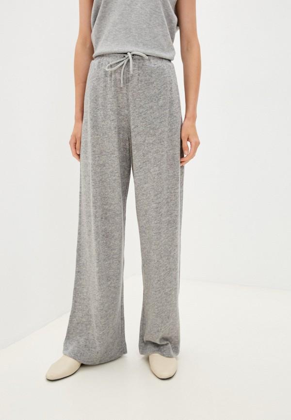 женские повседневные брюки max mara leisure, серые