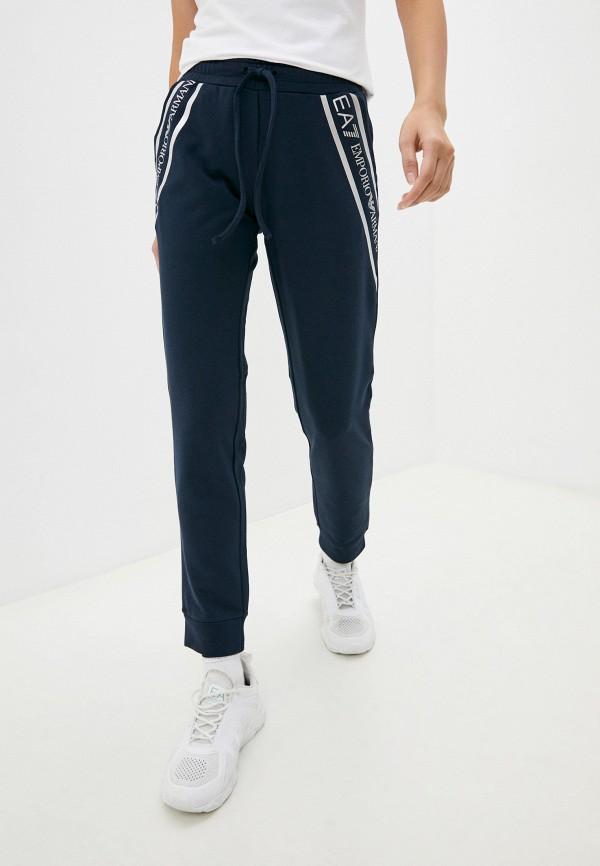женские спортивные брюки ea7, серые