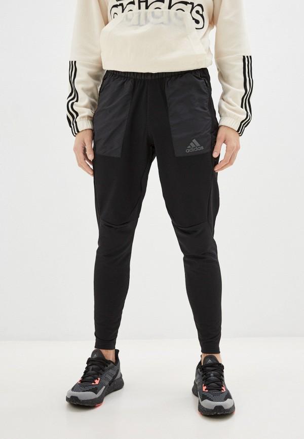 мужские спортивные брюки adidas, черные