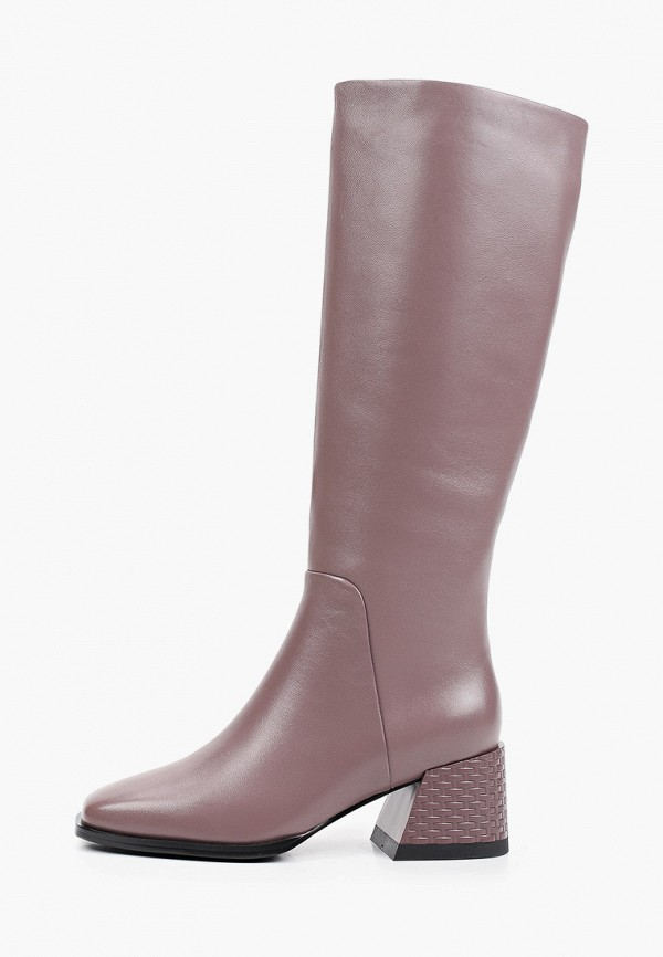 женские сапоги covani, розовые