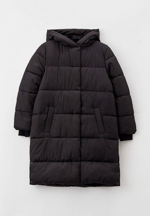 утепленные куртка s.oliver для девочки, черная