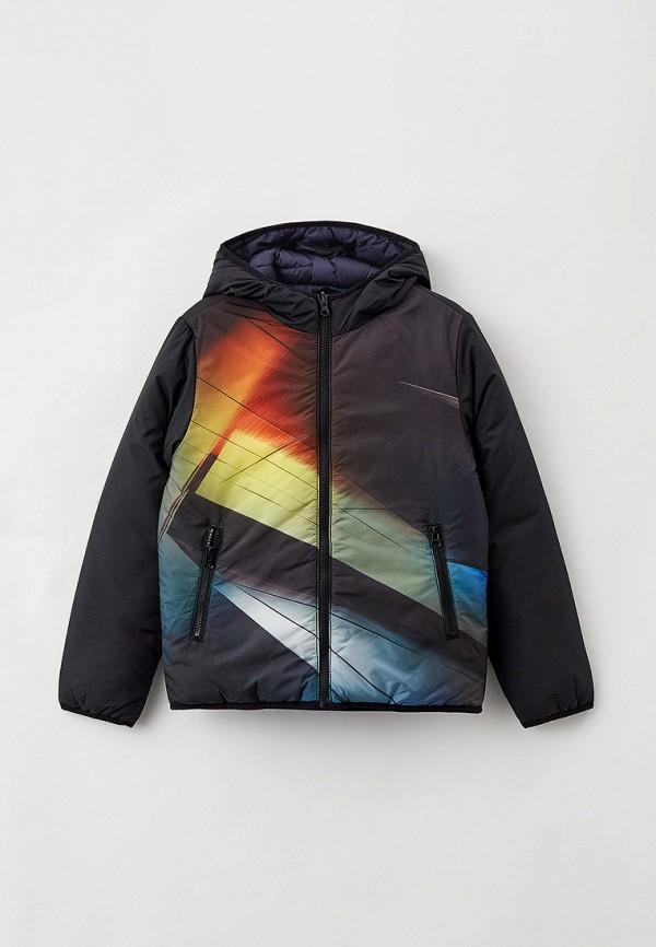 утепленные куртка s.oliver для мальчика, разноцветная
