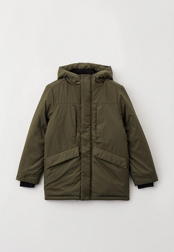 утепленные куртка s.oliver для мальчика, хаки