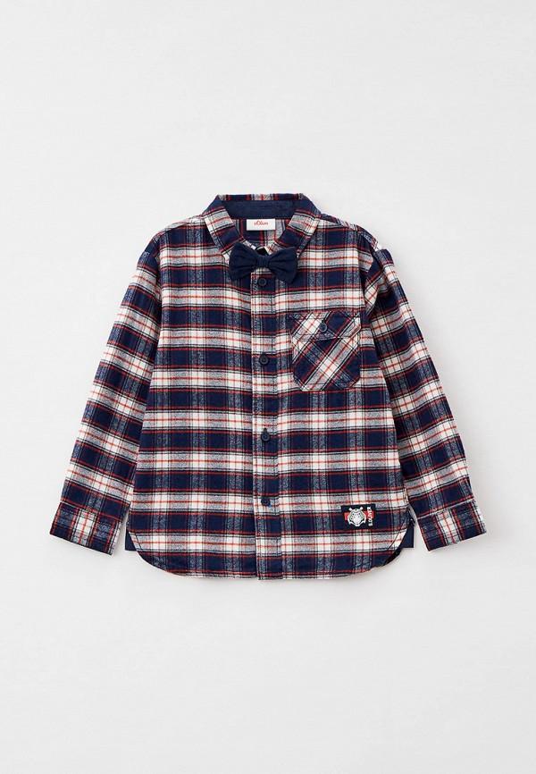 рубашка s.oliver для мальчика, разноцветная