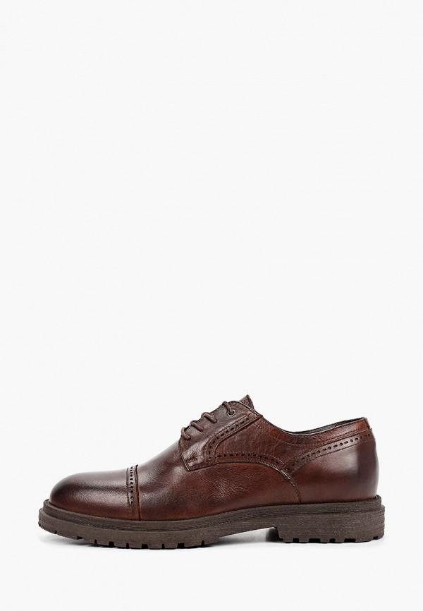 мужские туфли-дерби just couture, коричневые