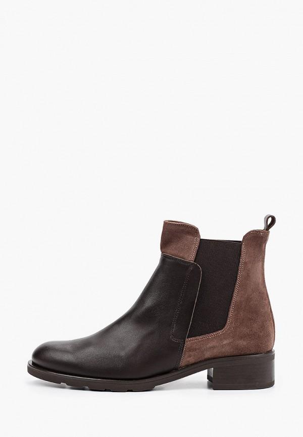 женские ботинки-челси el tempo, коричневые