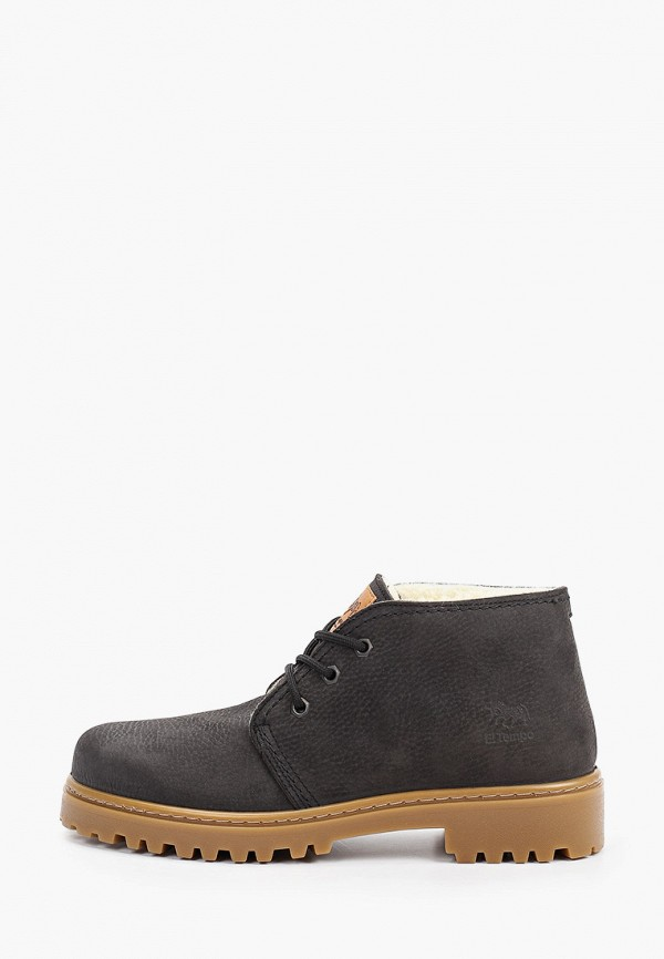 мужские ботинки el tempo, черные
