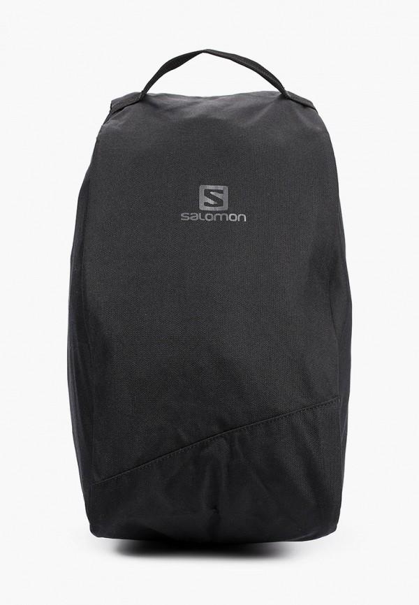 женская спортивные сумка salomon, черная