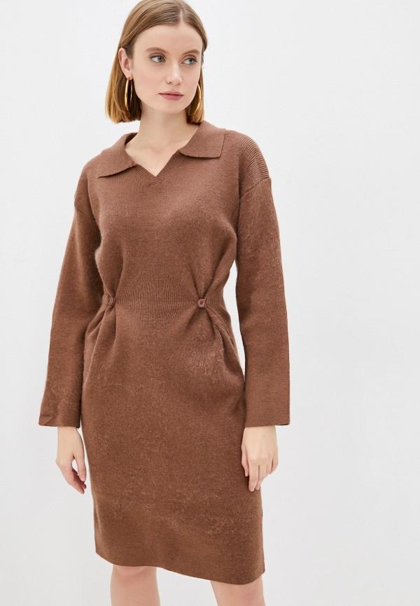 женское платье-свитеры marselesa, коричневое