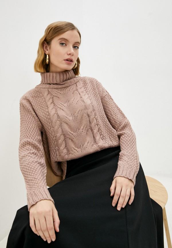 женский свитер marselesa, коричневый