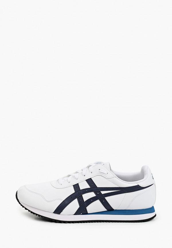 мужские низкие кроссовки asics, белые