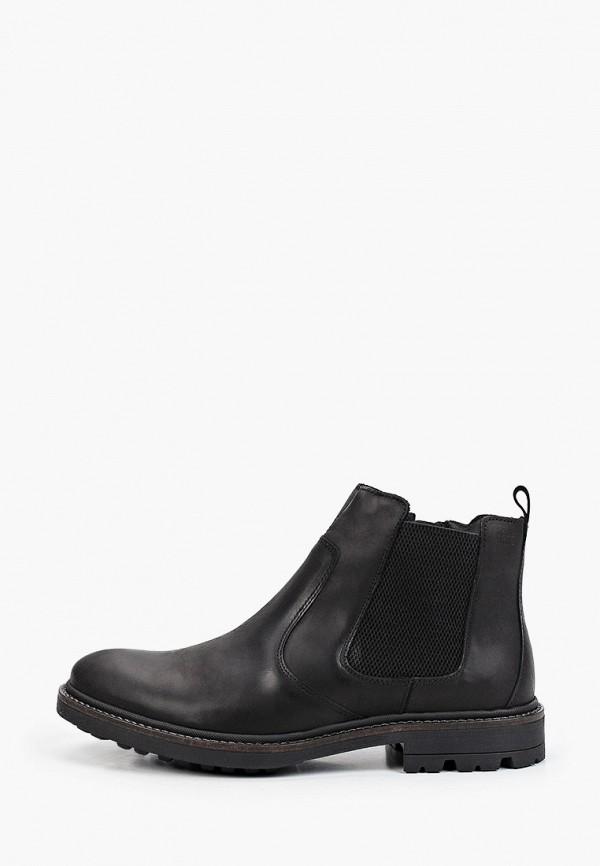 мужские ботинки-челси salamander, черные