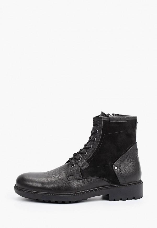 мужские ботинки d.moro, черные