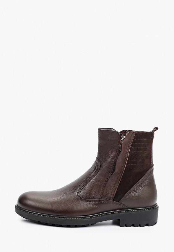 мужские высокие ботинки d.moro, коричневые