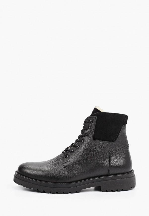 мужские высокие ботинки d.moro, черные