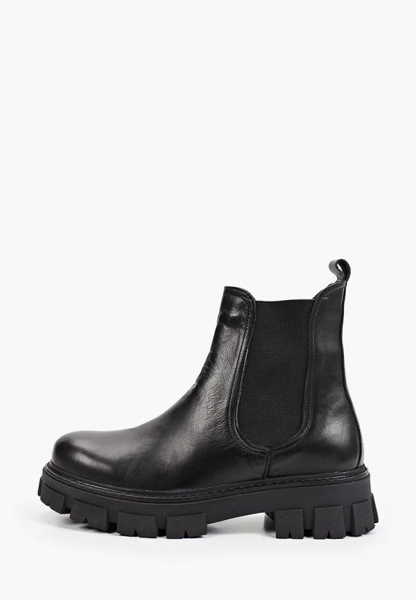 женские ботинки-челси d.moro, черные