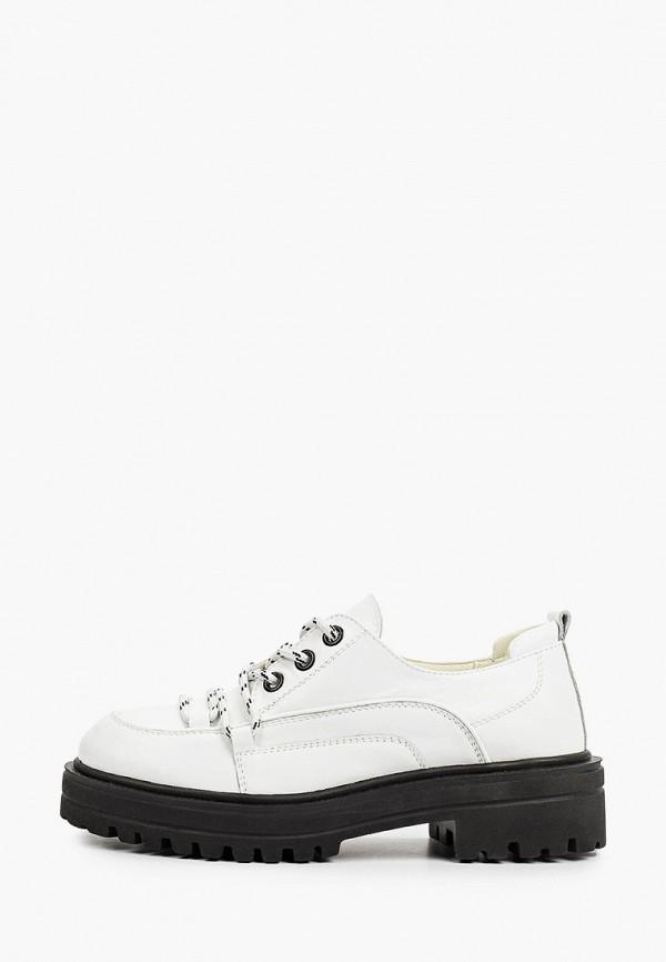 женские низкие ботинки mcm, белые