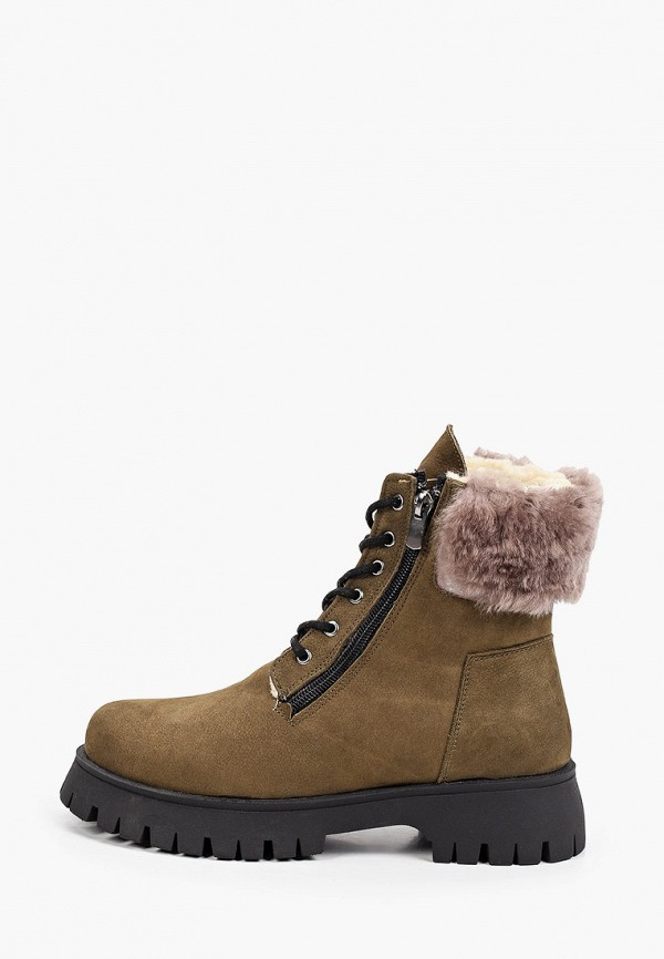 женские высокие ботинки vm7, хаки