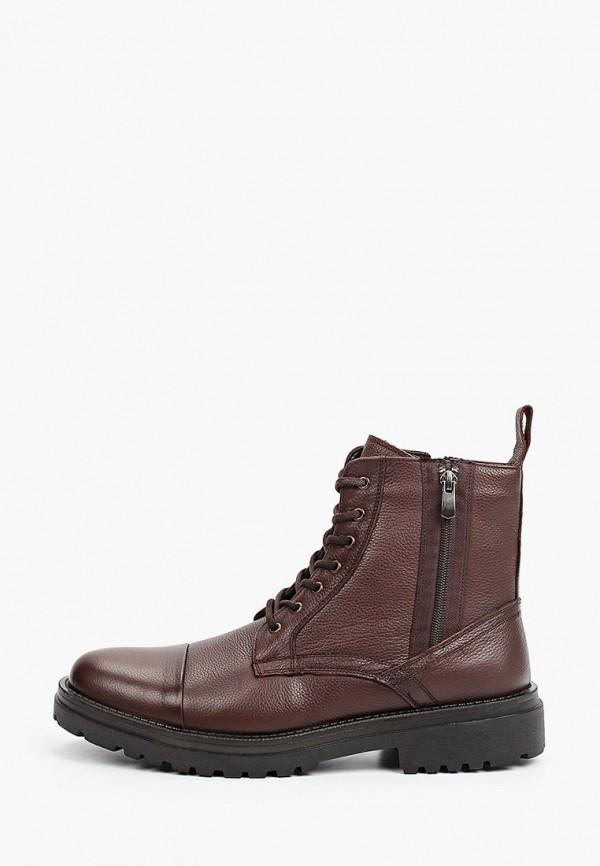 мужские высокие ботинки vm7, коричневые