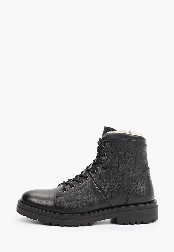 мужские высокие ботинки vm7, черные