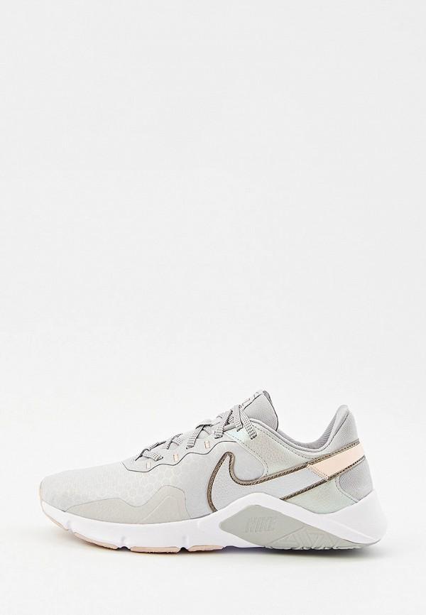 Кроссовки Nike серого цвета