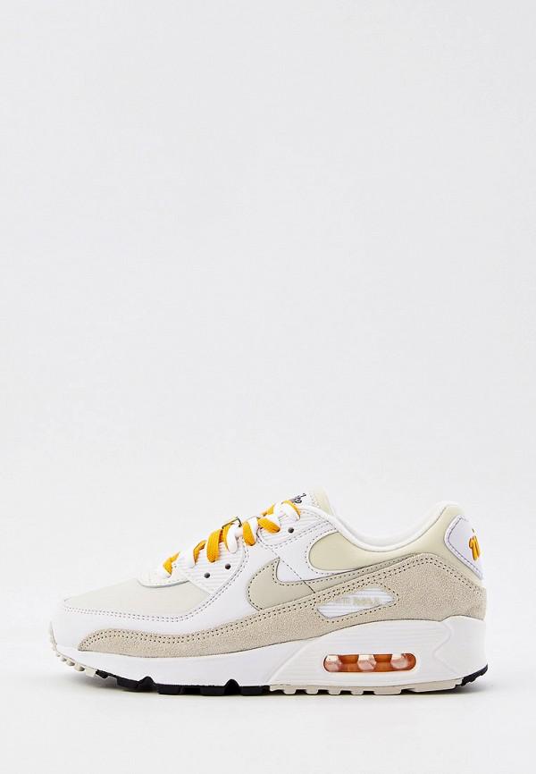 Кроссовки Nike бежевого цвета
