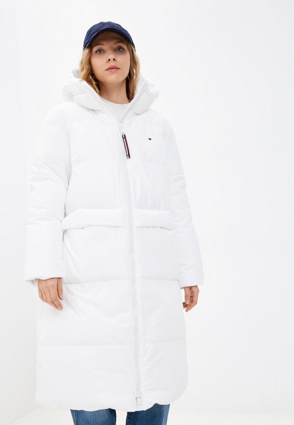 Куртка утепленная Tommy Hilfiger белого цвета