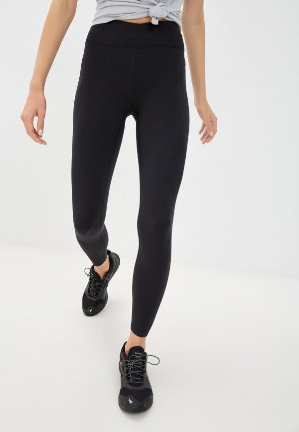 женские спортивные леггинсы marks & spencer, черные