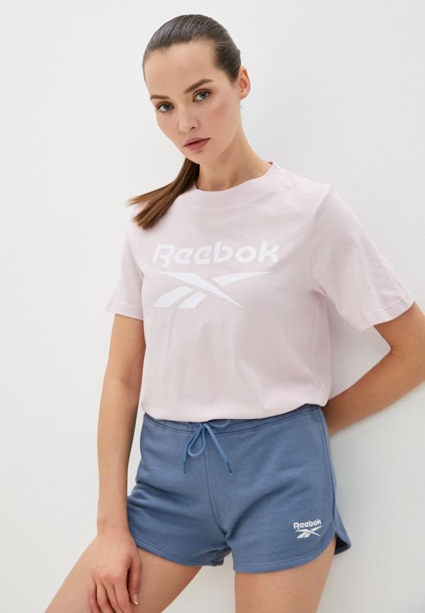 Футболка Reebok розового цвета