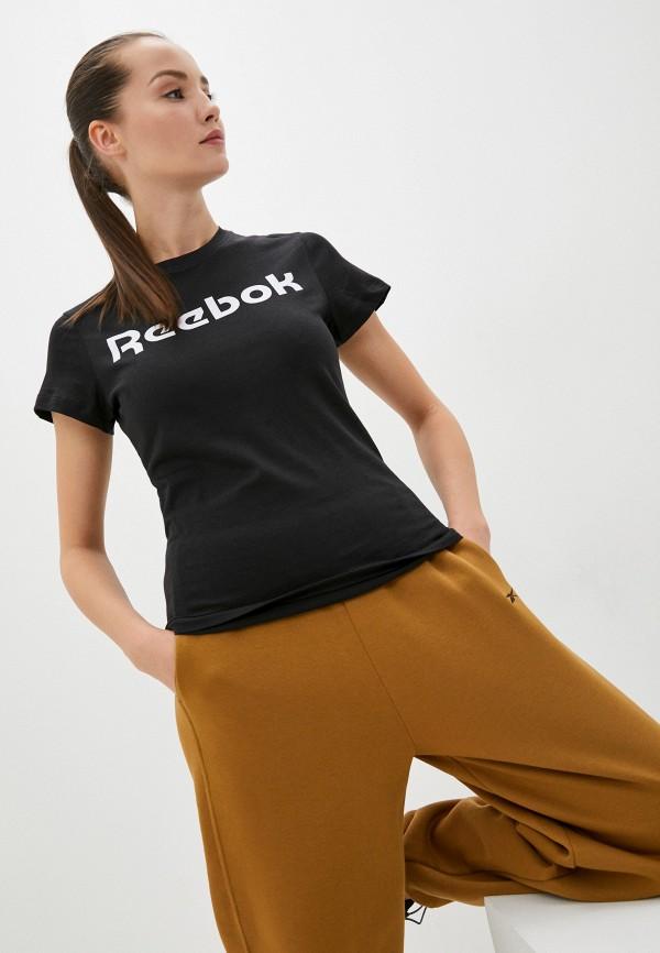 Футболка Reebok черного цвета