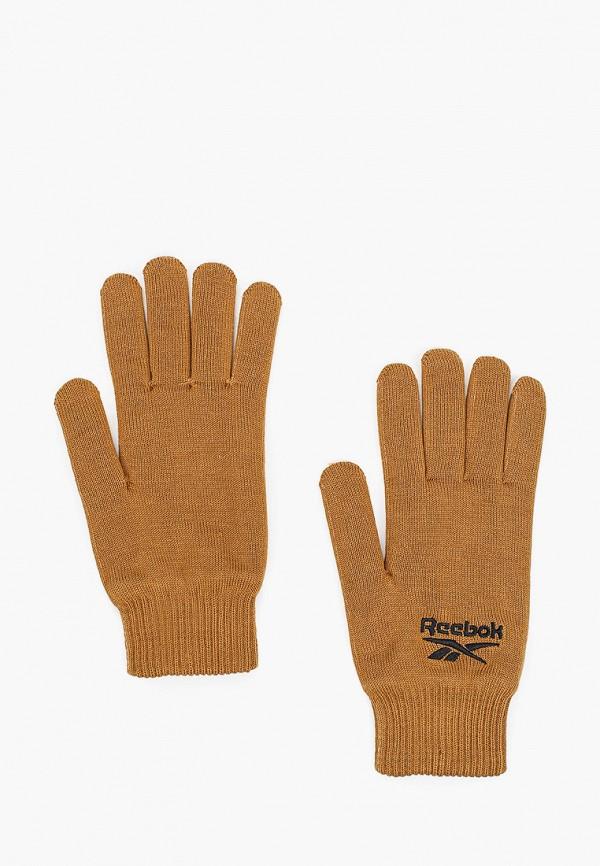 Перчатки Reebok коричневого цвета