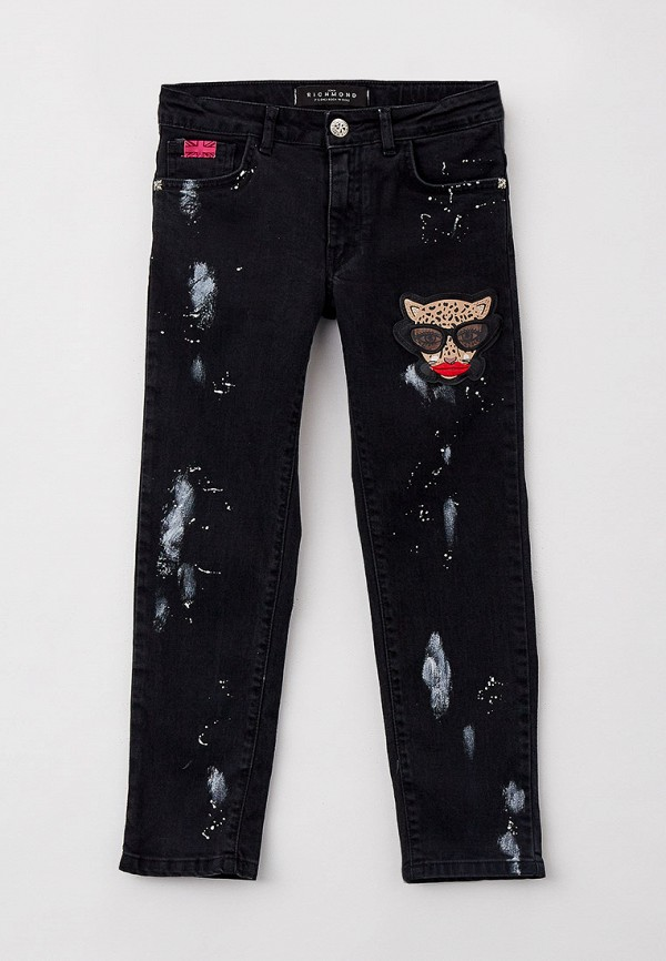 джинсы john richmond для девочки, черные