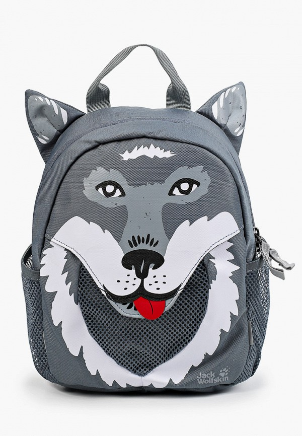 рюкзак jack wolfskin для мальчика, серый