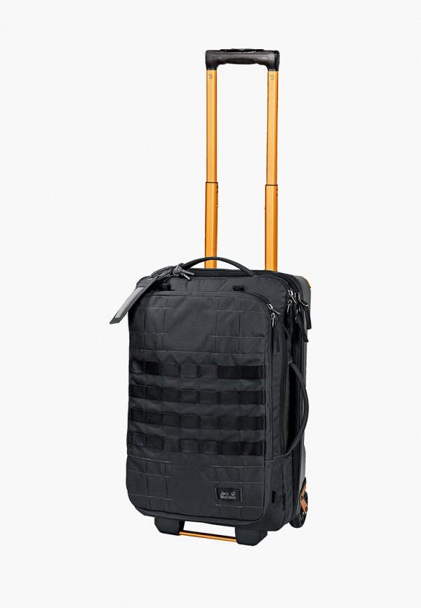 женский чемодан jack wolfskin, черный