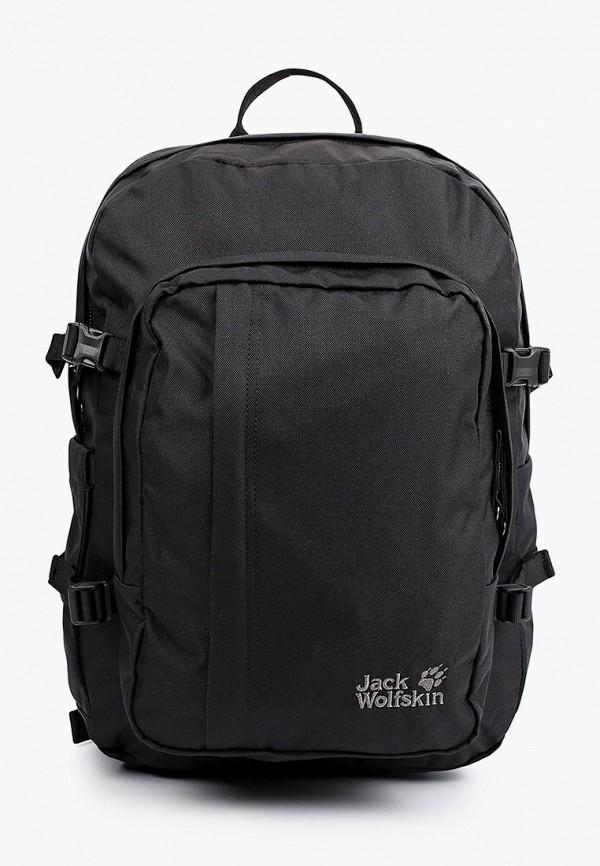 женский рюкзак jack wolfskin, черный