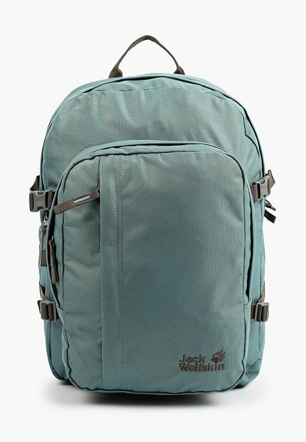 женский рюкзак jack wolfskin, бирюзовый