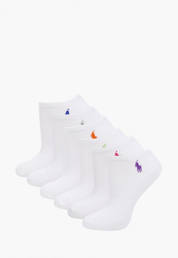 женские носки polo ralph lauren, белые