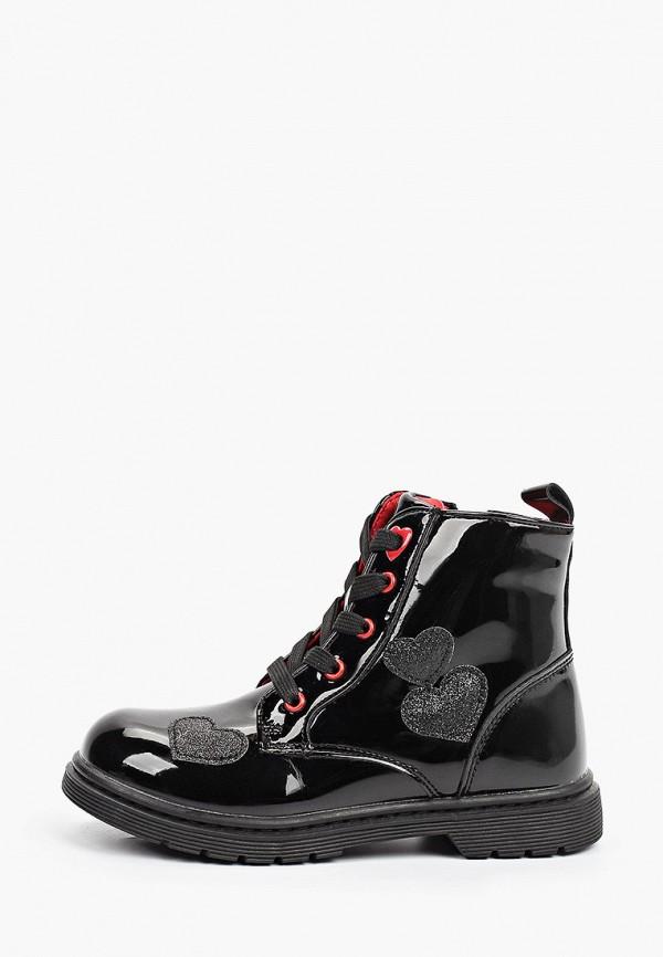 ботинки flamingo для девочки, черные