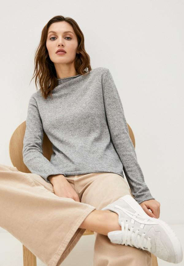 женский джемпер united colors of benetton, серый