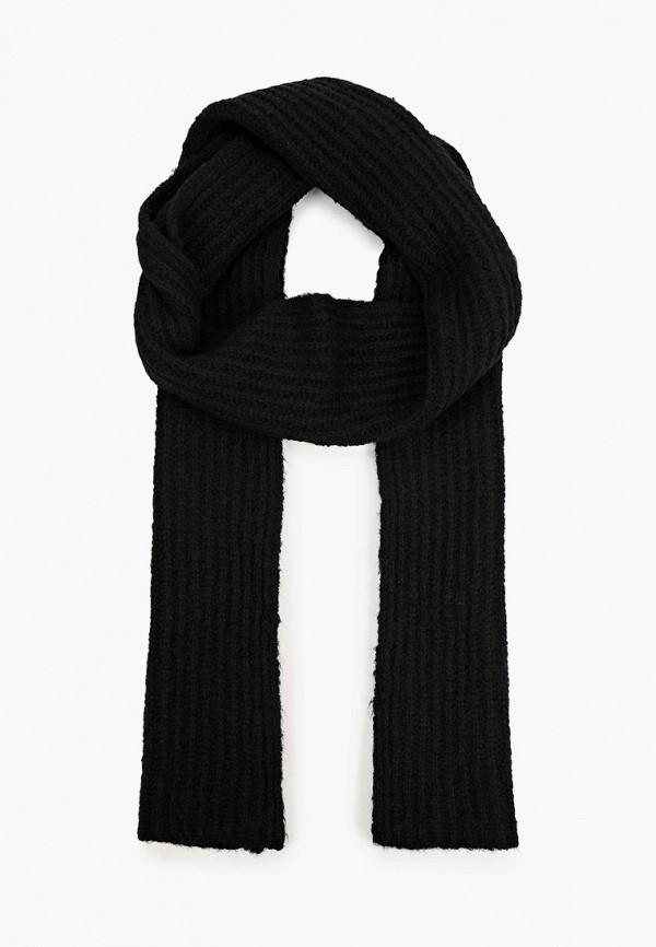 женский шарф united colors of benetton, черный