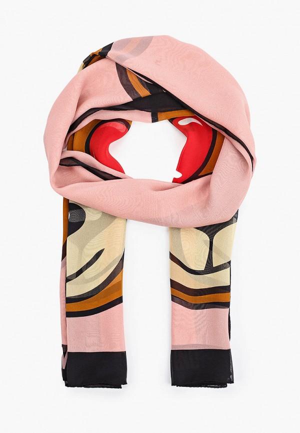 женский палантин moschino, разноцветный